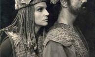 Tônia Carrero e Paulo Autran em 'Macbeth', de William Shakespeare, 1970.  Direção: Fauzi Arap. Foto: Foto Carlos. Cedoc-Funarte