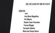 Cartaz da série 'Cinema' - Video-filme: 'Daime Santa Maria', de Noilton Nunes e Gibi de Abreu
