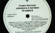 Discos Projeto Almirante – Jararaca e Ratinho – Selo Lado B