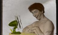Com a comicidade habitual, Oscarito posa para as lentes de Halfeld. Cedoc/ Funarte