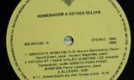 Discos PRO-MEMUS – Esther Scliar – Lado A