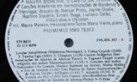 Discos PRO-MEMUS – Maura Moreira – Selo Lado A