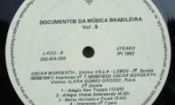 Discos PRO-MEMUS – Villa Lobos -Oscar Borgerth – Selo Lado B