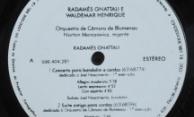 Discos PRO-MEMUS – Radamés Gnattali e Waldemar Henrique – Selo Lado A