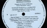 Discos PRO-MEMUS – Radamés Gnattali e Waldemar Henrique – Selo Lado B