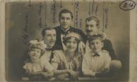 Oscarito com a família Teresa